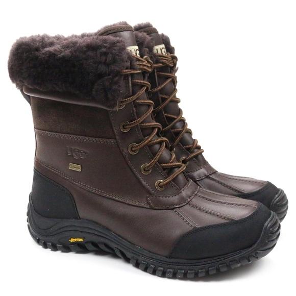 cd76786e43c UGG Adirondack II Obsidian Waterproof Snow Boots Boutique